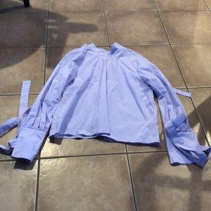 Lavender Topshop Blouse 8